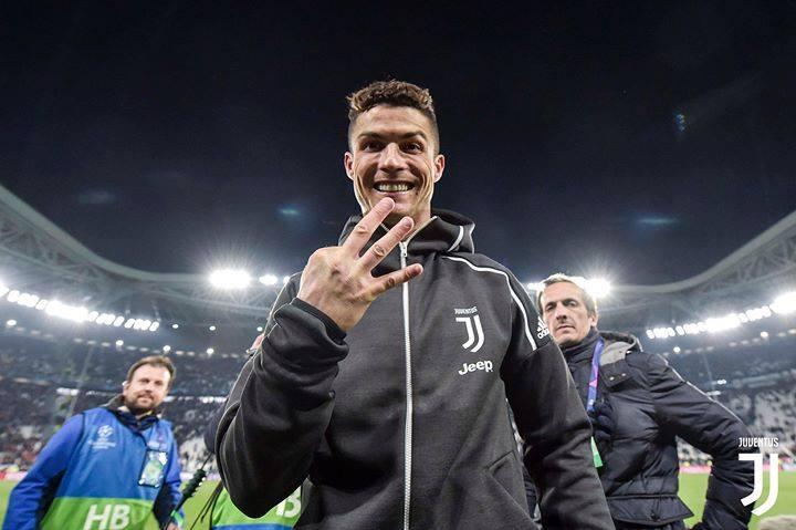 Cristiano Ronaldo anotó un 'hat-trick' para eliminar a Atlético de Madrid en la Champions League. (Foto: Juventus)