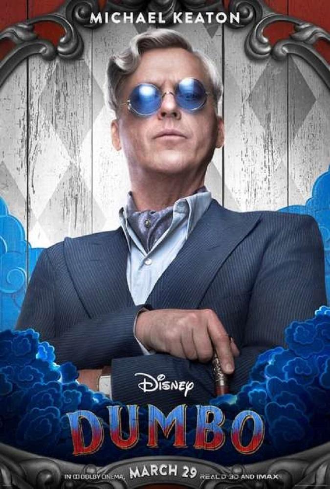 Michael Keaton interpreta a V.A. Vandevere en