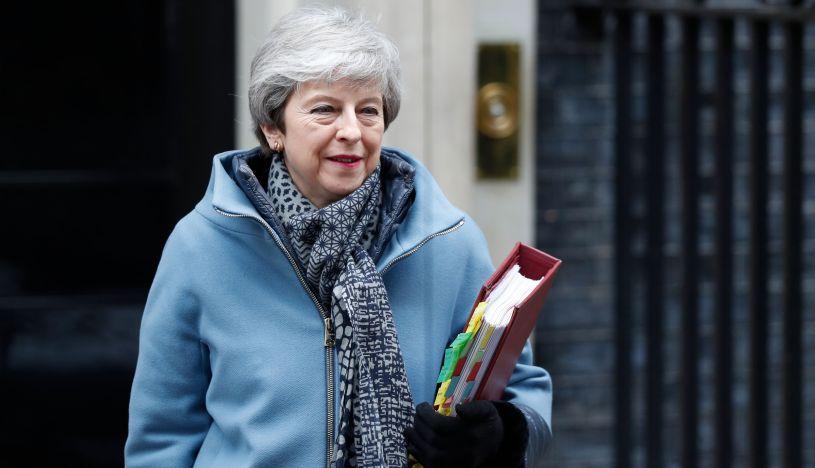 Theresa May, primera ministra británica. (Foto: AFP)