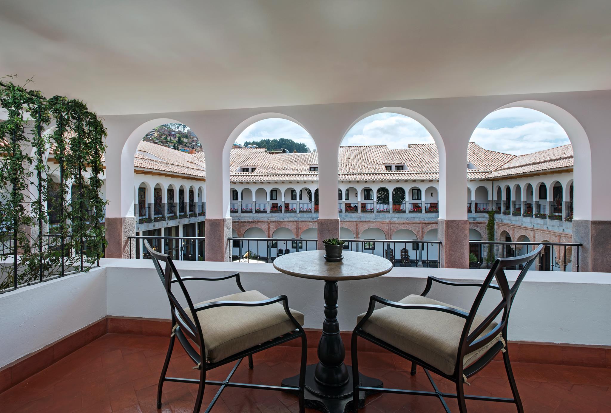 Desde sus ventanales tendrás una impresionante vista panorámica de todo el complejo. (Foto: FacebookJW Marriott El Convento)
