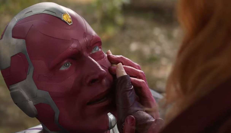 Vision muere a manos de Wanda (Avengers: Infinity War) (Foto: Marvel Studios)