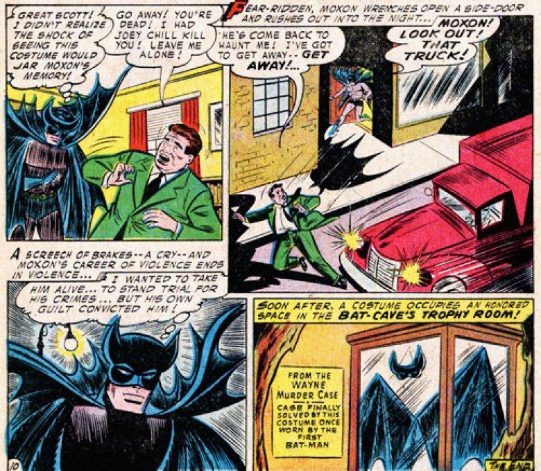 Lew Moxon sería el actor intelectual del asesinato de los padres de Bruce Wayne (Foto: DC Comics)