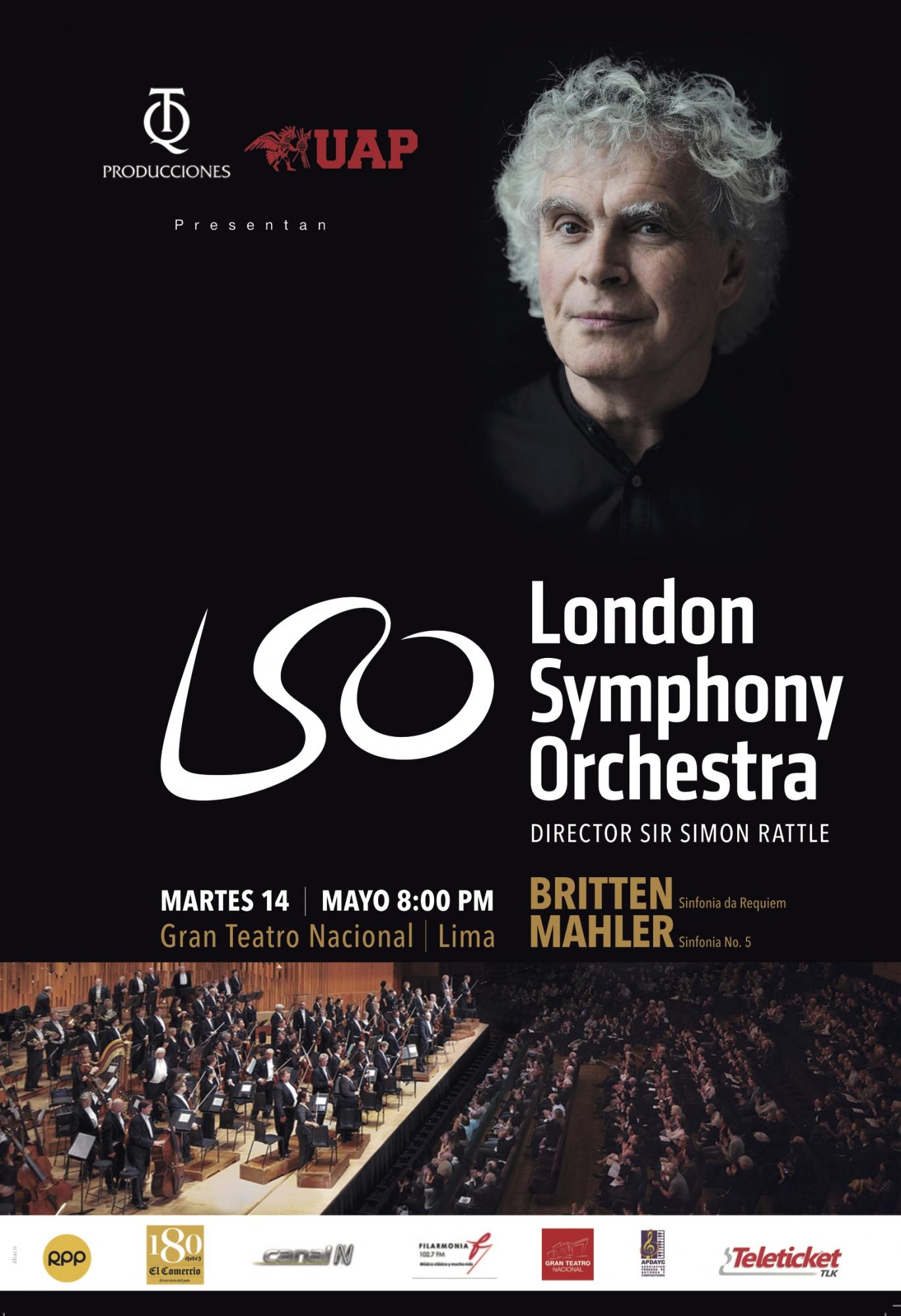 Orquesta Sinfónica de Londres  se presentará por primera vez en el Perú este 14 de mayo en el Gran Teatro Nacional. (Foto: Difusión)