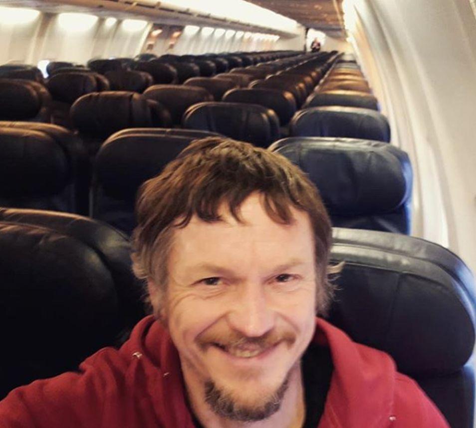 El ciudadano lituano agradeció la atención que le brindaron durante su vuelo que duró cerca de dos horas (Foto: Instagram Skirmantas Strimaitis)