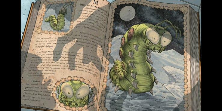 Mister Mind es presentado como una criatura mágica en lugar de un alien en su versión original de los cómics (Foto: DC Comics)