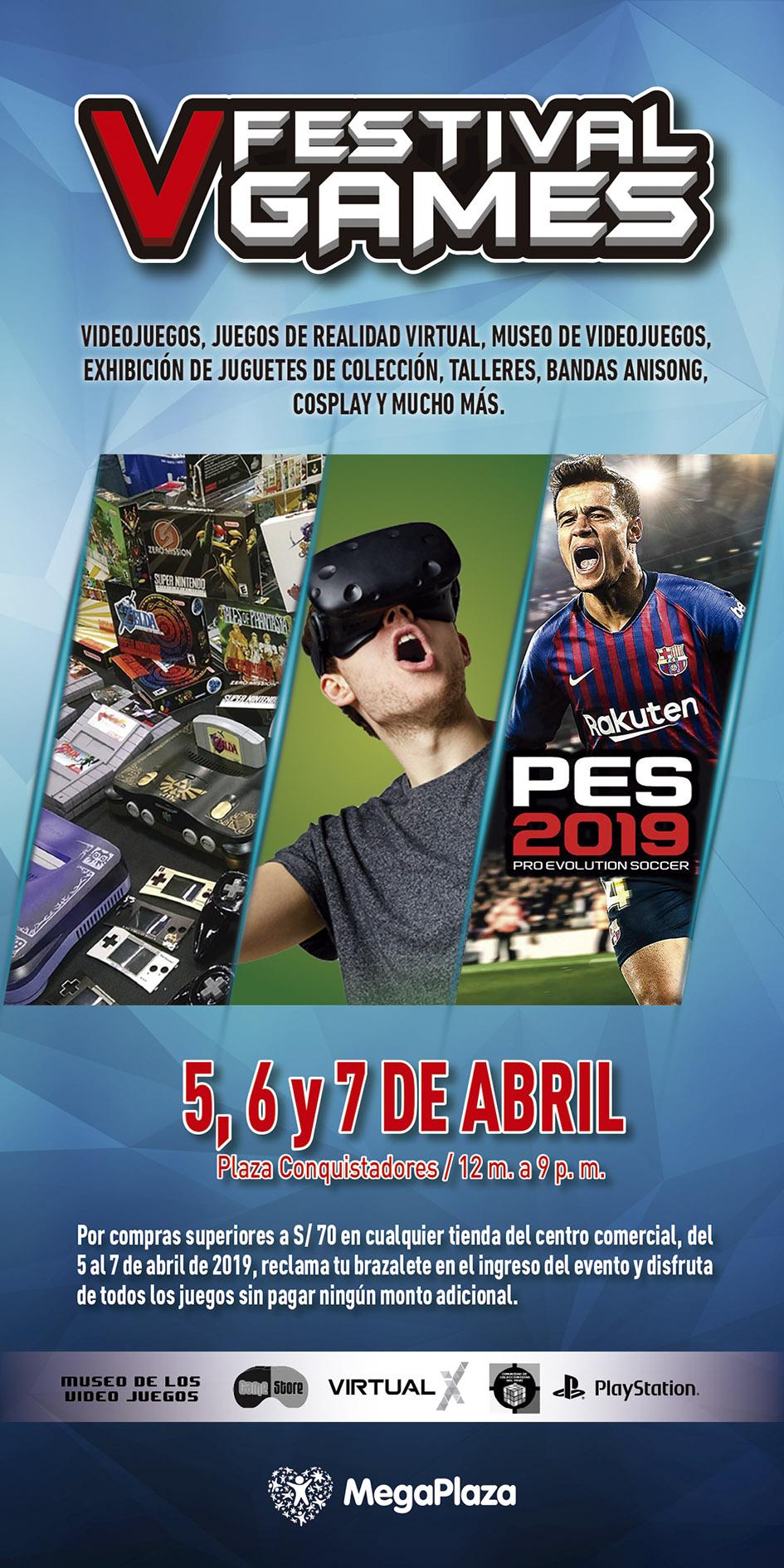 Festival Games tendrá lugar este fin de semana. (Foto: Difusión)