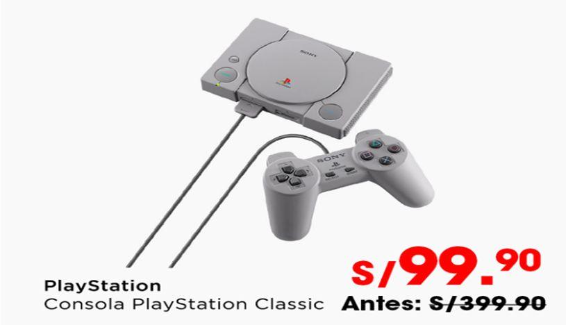 Precio de la PlayStation Classic. (Foto: Captura)