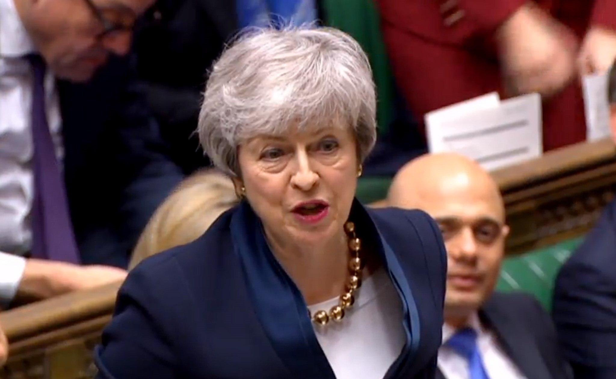 Theresa May, primera ministra británica. (Foto: EFE)