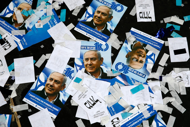 Benjamin Netanyahu se encamina a su quinto periodo en Israel. (Foto: AFP)
