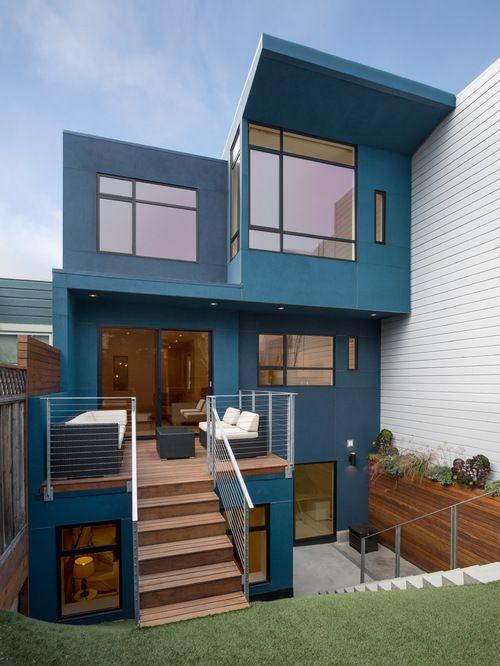 El azul le dará elegancia y un toque de calma a tu casa. (Foto: Pinterest Anyward)