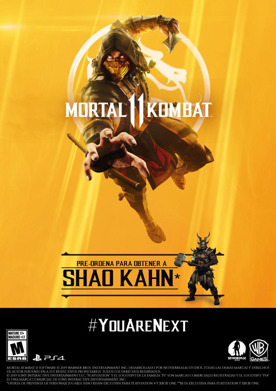 Shao Kahn también está disponible para todos los fanáticos de MK. (Foto: Difusión)