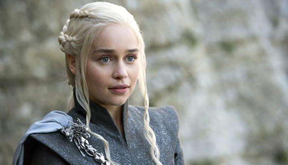 Emilia Clarke es Daenerys Targaryen en Game of Thrones. (Foto: HBO)