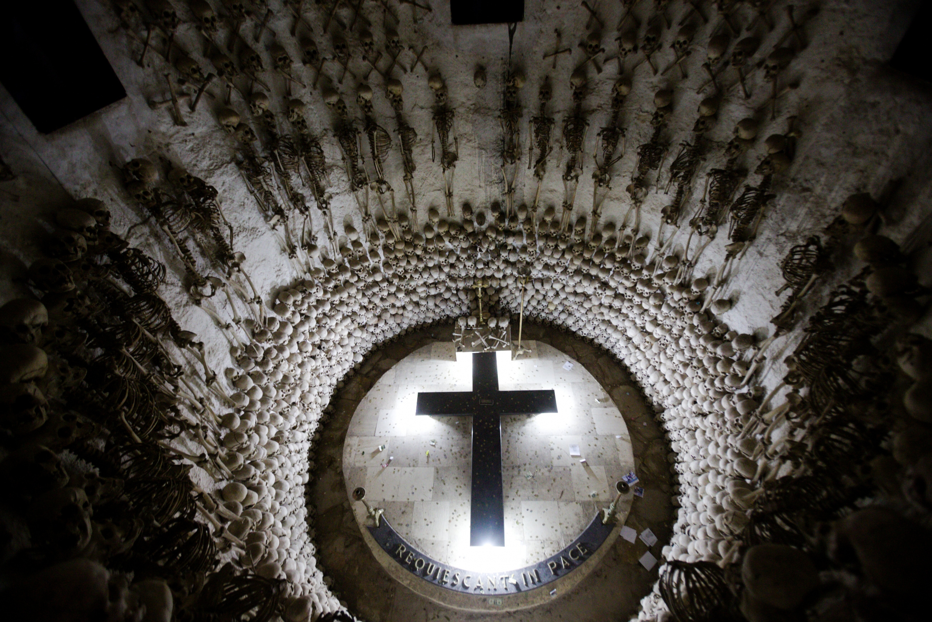 Muchas de las catacumbas que están en el templo aún no son descubiertas. (Foto: PromPerú)