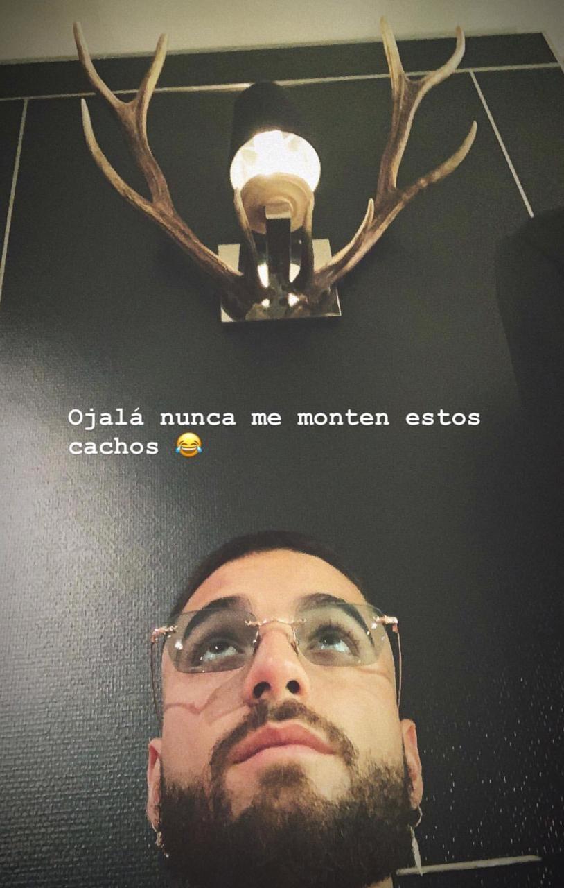 Esta fue la imagen que compartió Maluma en su Instagram. (Foto: @maluma)