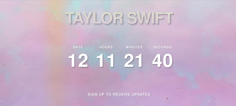 Taylor Swift crea expectativa por su próximo proyecto (Foto: Captura de pantalla)