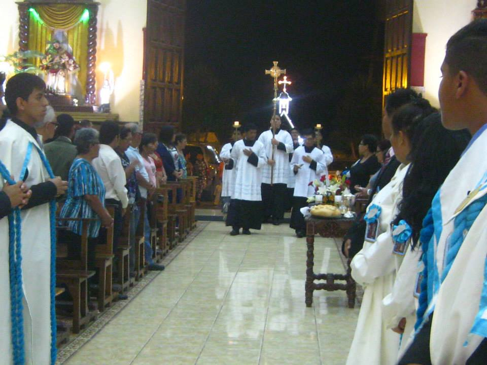 Dónde: Jr. Octavio Espinoza S/N, Callao. (Foto: Facebook Nuestra Señora de Lourdes Callao)