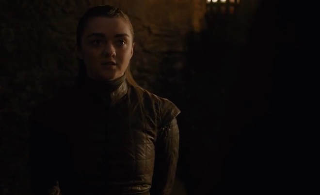 Arya llega a buscar al herrero a sus aposentos. (Foto: HBO)