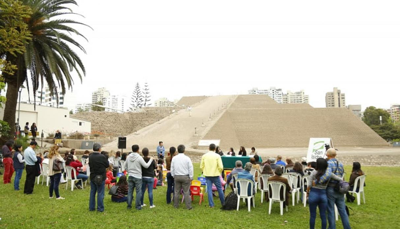 Grandes y chicos disfrutan de las instalaciones de la huaca donde aprenden más de nuestra historia. (Foto: Facebook Municipalidad de San Isidro)