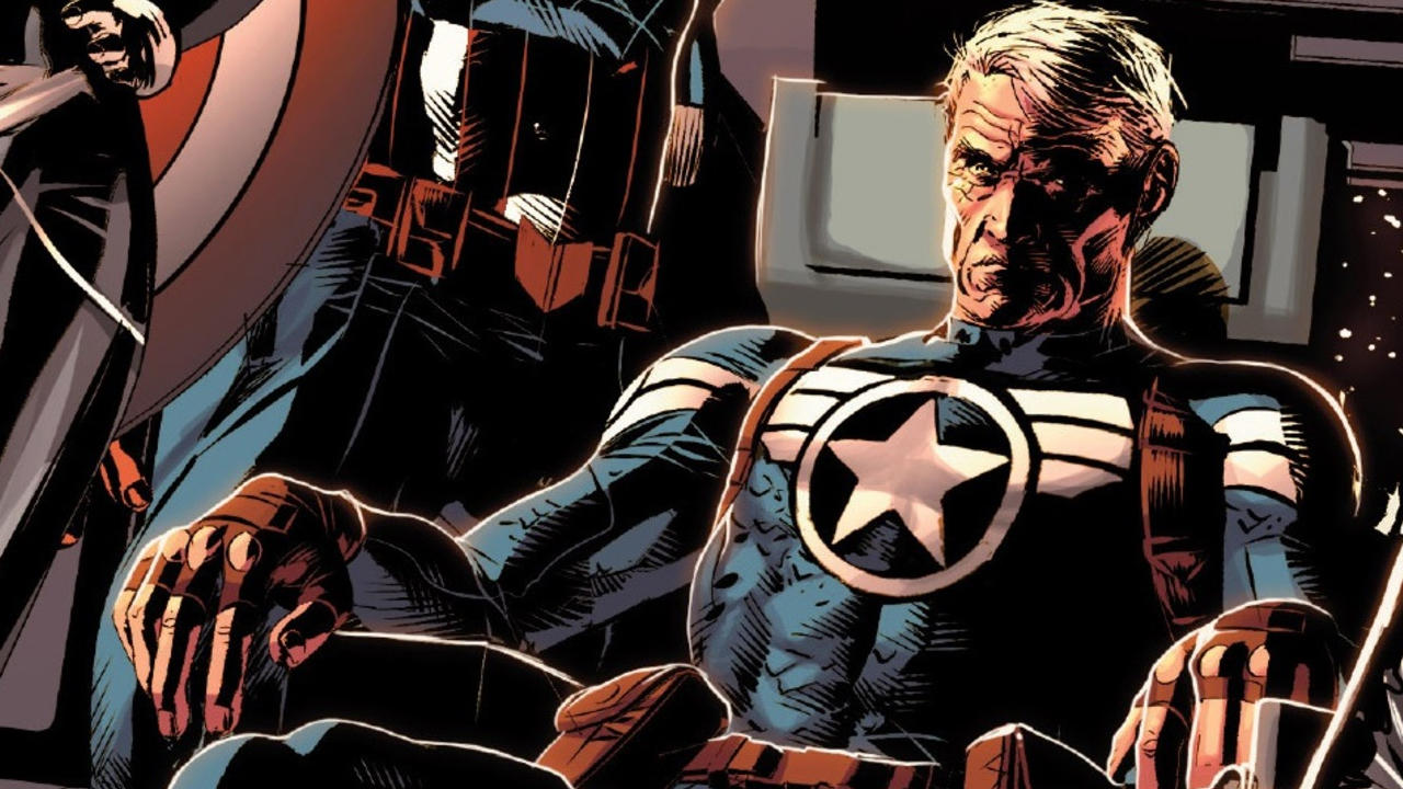 Steve Rogers envejece en los cómics (Foto: Marvel Comics)