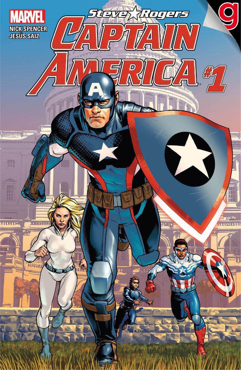 El Capitán América regresó en los cómics homónimos del héroe (Foto: Marvel Comics)