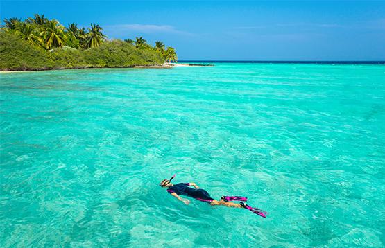 El Mar Caribe te invitará a zambullirte en él. (Foto: Pixabay)