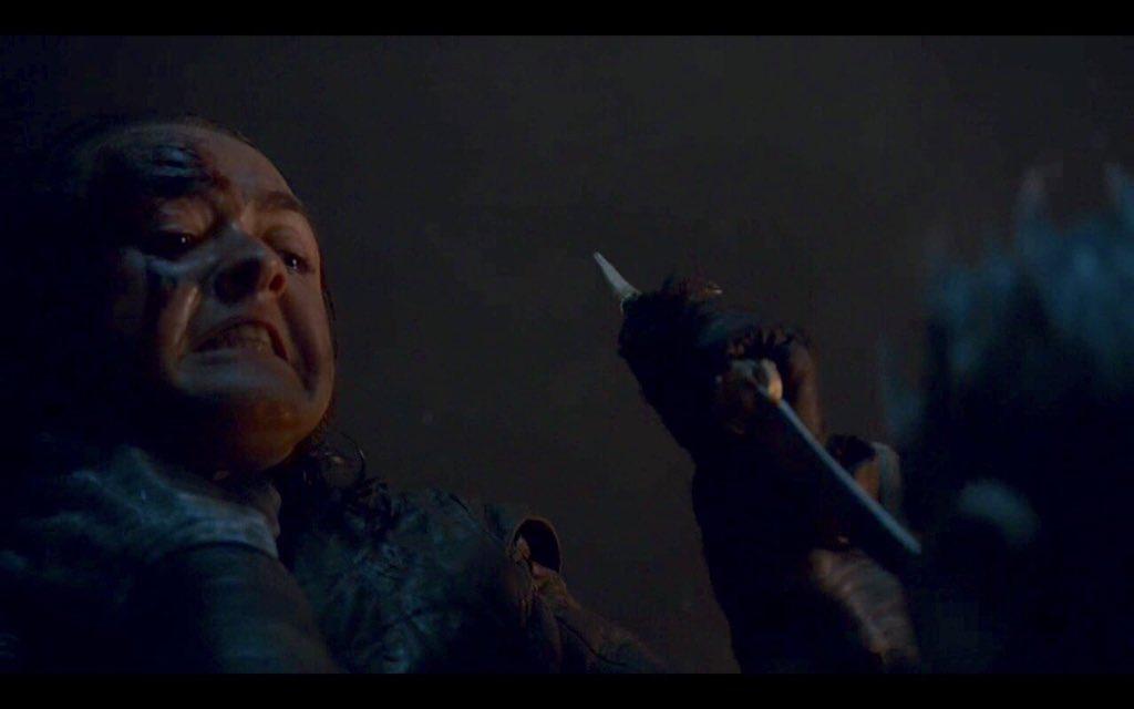 Arya Stark asesina al