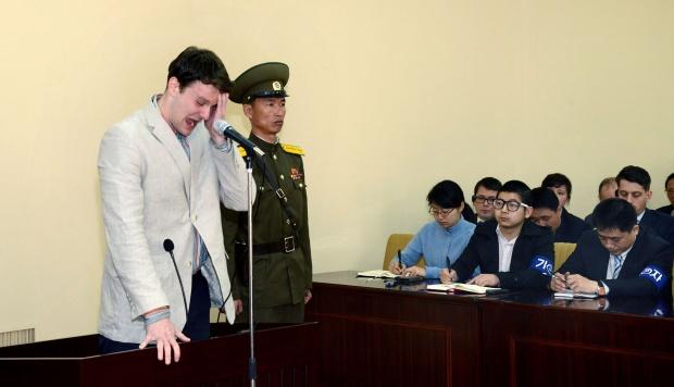 Otto Warmbier fue arrestado en Corea del Norte tras admitir haber robado material de propaganda a instancias de una iglesia metodista de Estados Unidos y con el aliento de una sociedad universitaria secreta. (Foto: AFP)