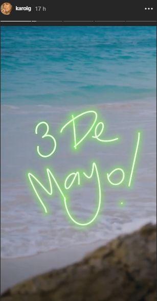 """Karol G anuncia la fecha de estreno de su nuevo álbum """"Ocean"""". (Foto: @karolg)"""