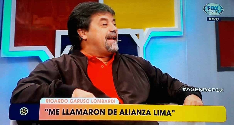 La revelación de Carusso Lombardi sobre Alianza Lima. (Foto: Captura de Fox Sports)