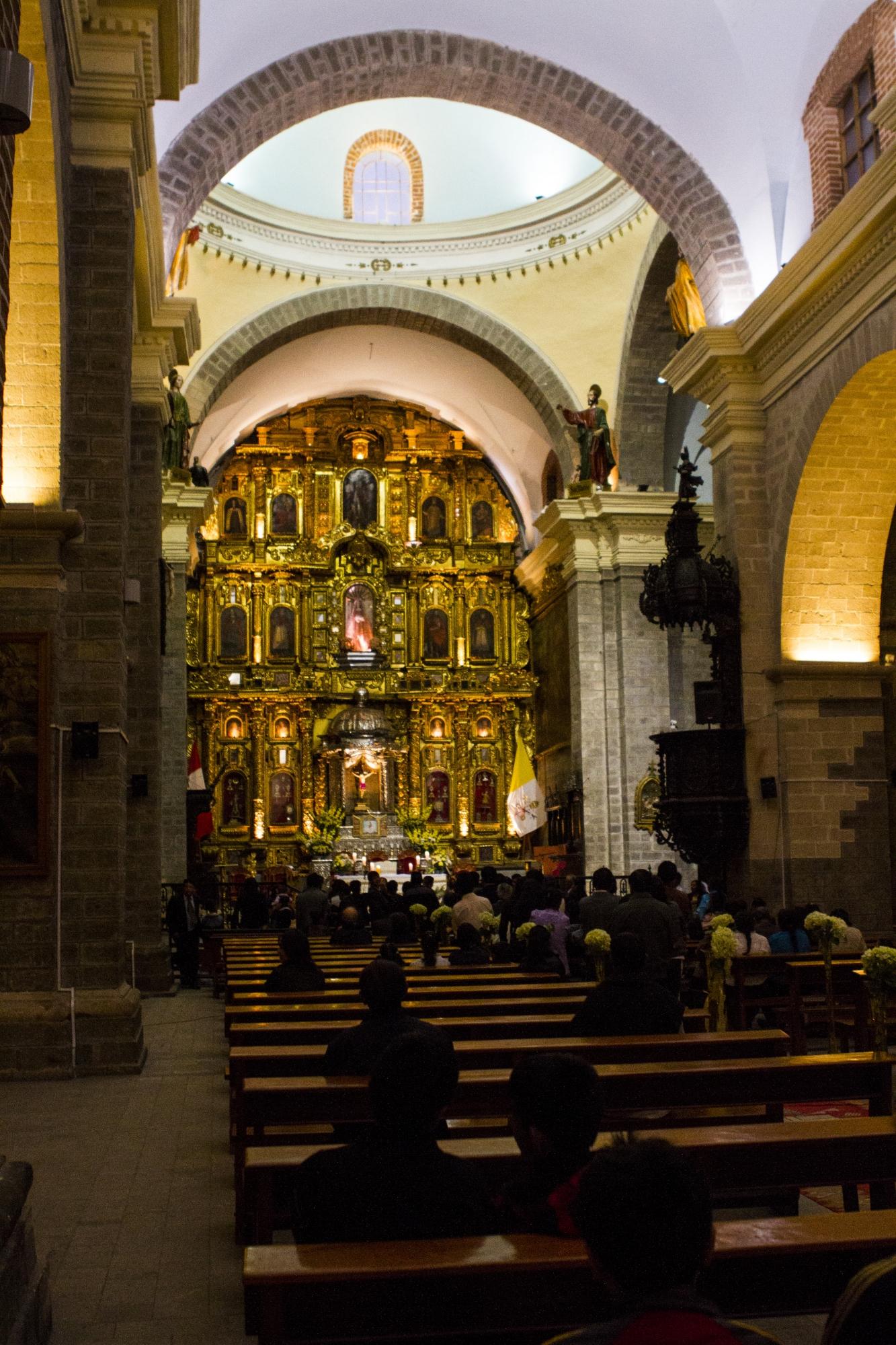 La religiosidad está presente en todo el pueblo huamanguino. (Foto: PromPerú)