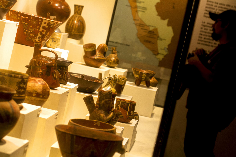 El museo Hipólito Unanue guarda piezas de la cultura Wari. (Foto: PromPerú)
