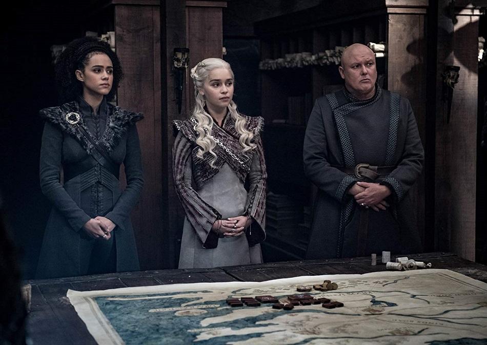 """Daenerys y sus aliados discuten la estrategia de batalla (Foto: HBO)<br /> """" title=""""Daenerys y sus aliados discuten la estrategia de batalla (Foto: <span class="""