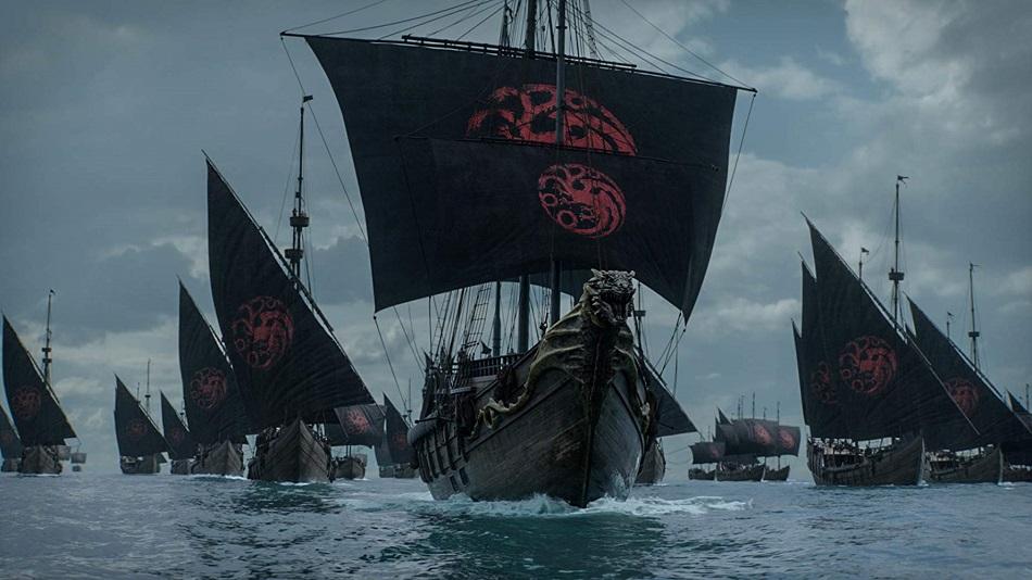 Las embarcaciones de Daenerys se dirigen a Kings Landing (Foto: HBO)