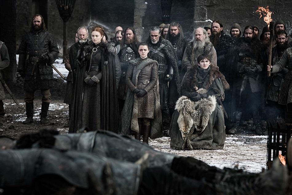 El Norte despide a los caídos en la Batalla de Winterfell (Foto: HBO)