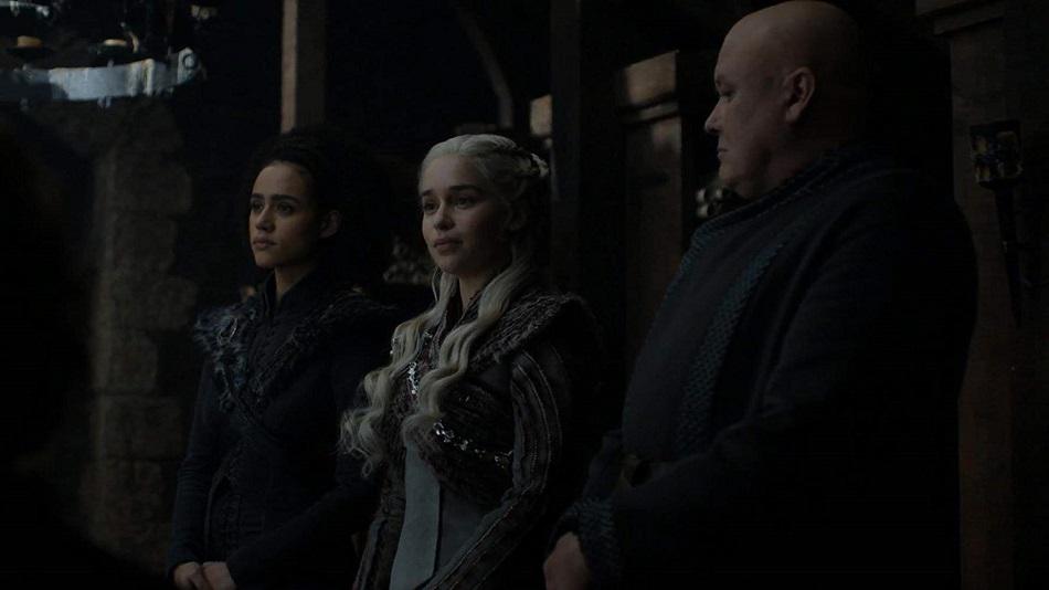 Daenerys da un discurso antes la batalla por el Trono de Hierro (Foto: HBO)