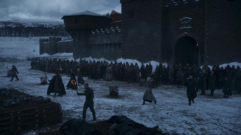 Los sobrevivientes se despiden de todos los muertos de la Batalla de Winterfell (Foto: HBO)