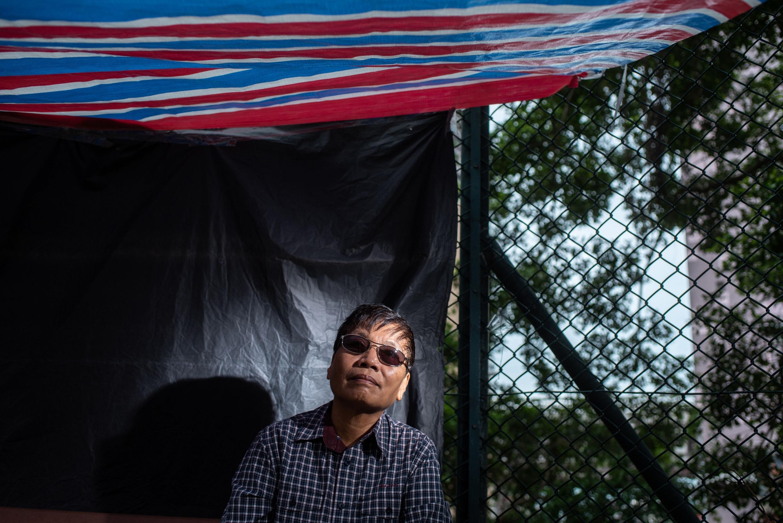 El religioso, que trabaja en Hong Kong como empleado doméstico desde 1981, fue detenido en 2017 por presunta violación. (AFP)