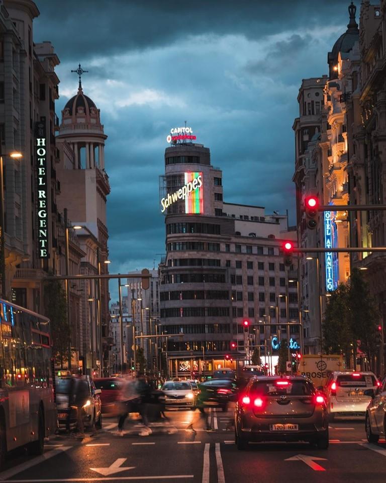 La elegancia de Madrid está presente en la Gran Vía. (Foto: Facebook La Gran Vía de Madrid)