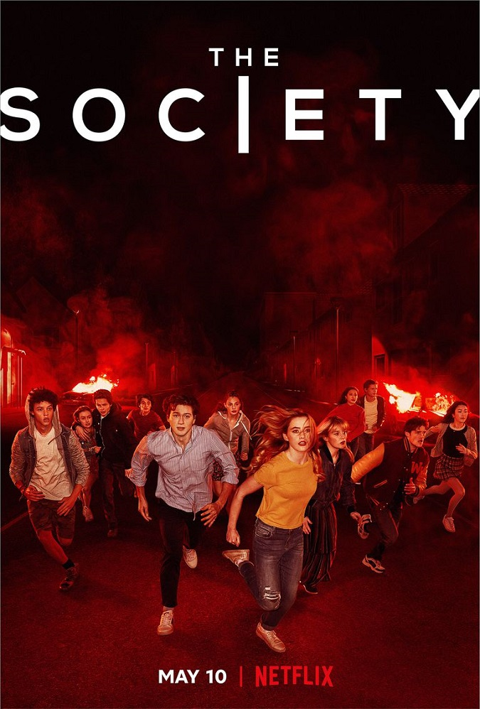Este es el póster de la primera temporada de The Society (Foto: Netflix)