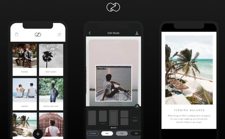 En Unfold se puede utilizar plantillas prediseñadas para crear Historias de Instagram. (Foto: Unfold)
