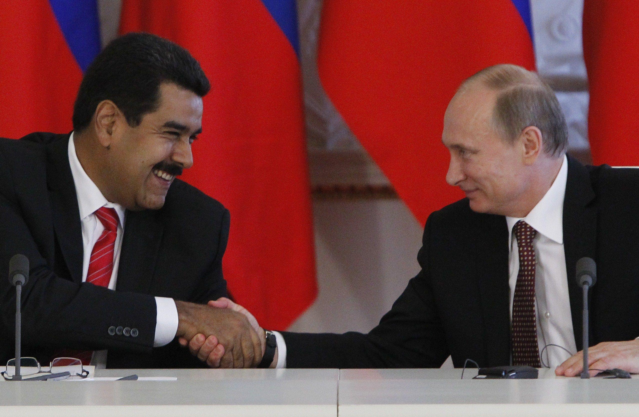 Moscú es un aliado esencial del mandatario Nicolás Maduro. (AFP)
