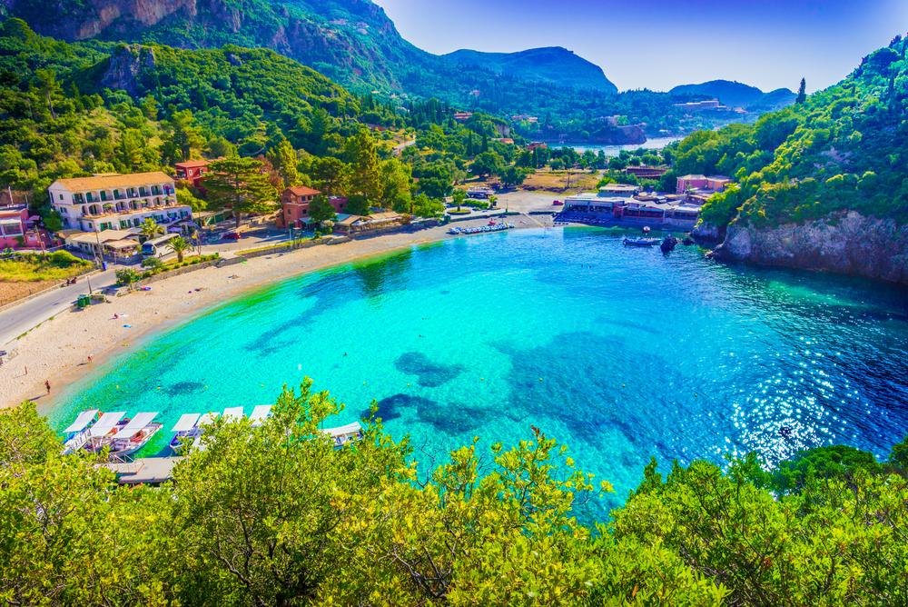 Playas azules y paisajes de ensueño es lo que te ofrece Naxos. (Foto: Difusión UTP)