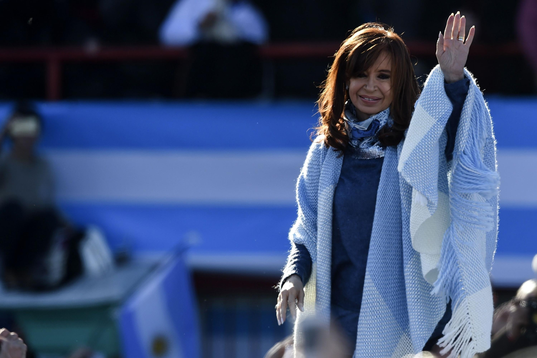 Cristina Kirchner, la ex presidenta argentina que afronta el primer juicio en su contra. (Foto: AFP)