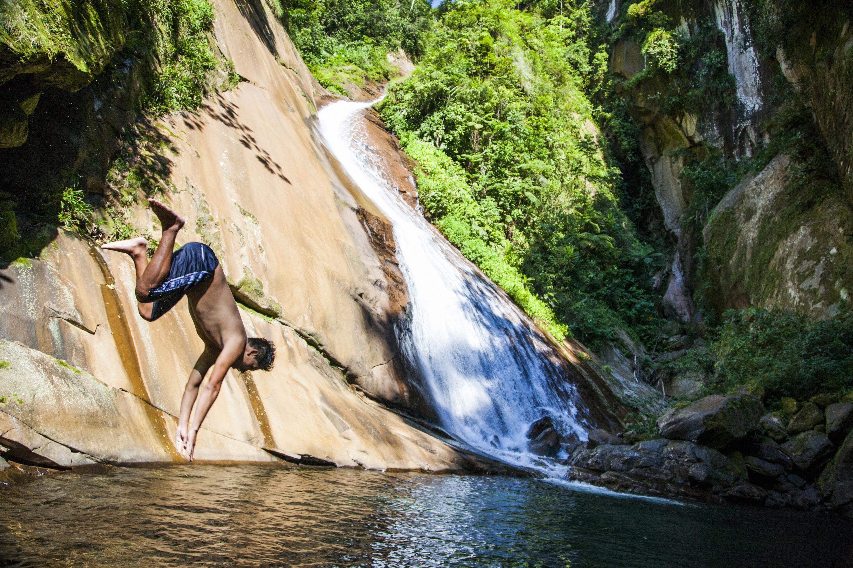 A lo largo del parque nacional Cordillera Azul disfrutarás de diversas cascadas. (Foto: PromPerú)