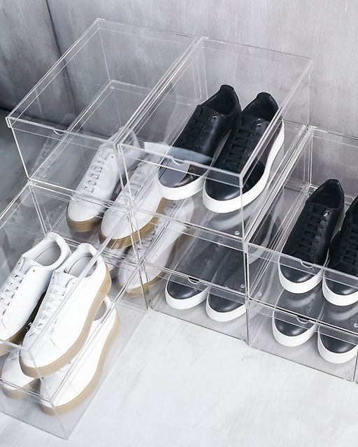 Los zapatos también deben ser limpiados antes de ser guardados. (Foto: Pinterest Ikea)
