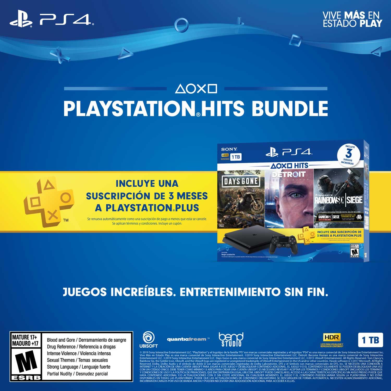 Cada cierto tiempo Sony presenta diferentes paquetes especiales que incluyen grandes títulos y una consola PS4 Slim. (Foto: Sony)