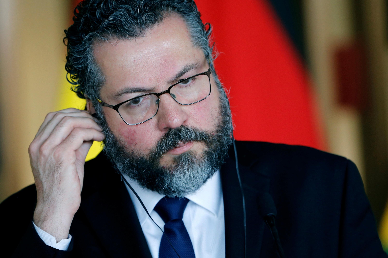 El ministro de Relaciones Exteriores de Brasil, Ernesto Araujo. (Foto: Reuters)