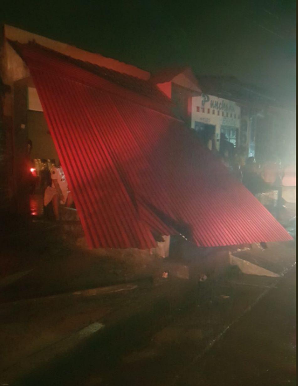 Los Bomberos difundieron imágenes tras el sismo. (Foto: Bomberos)