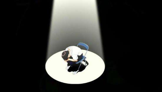 Shinji en el final de