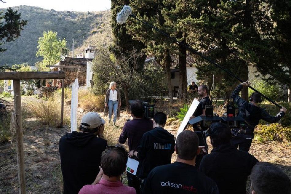 El rodaje de Malaka finalizará el julio (Foto: TVE)